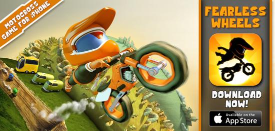 Fearless Wheels ir pieejams App Store