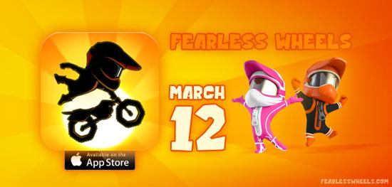 Fearless Wheels –jau 12. martā